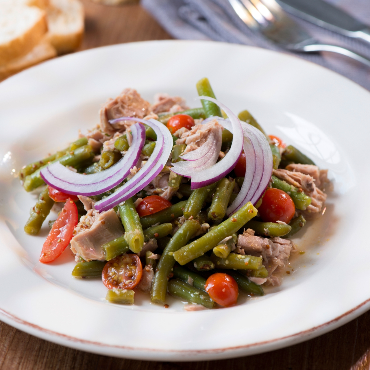 Bohnensalat Mit Thunfisch Rezepte Wochenblatt Fur Landwirtschaft