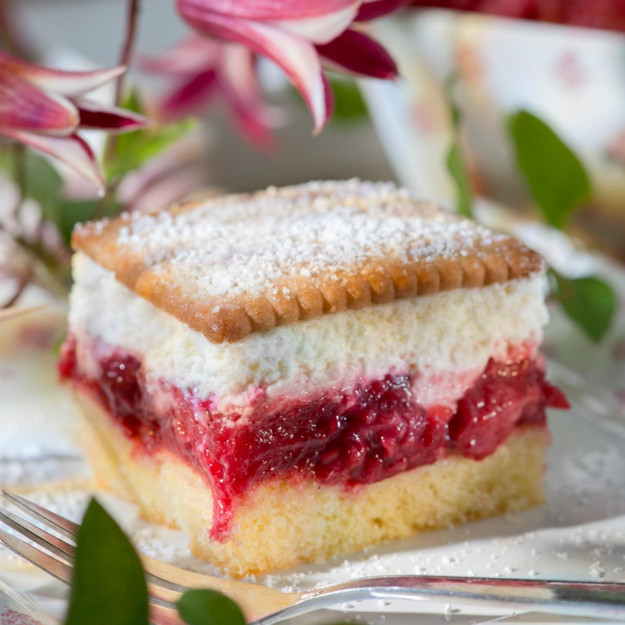 Butterkeks Himbeer Kuchen Rezepte Wochenblatt Fur Landwirtschaft