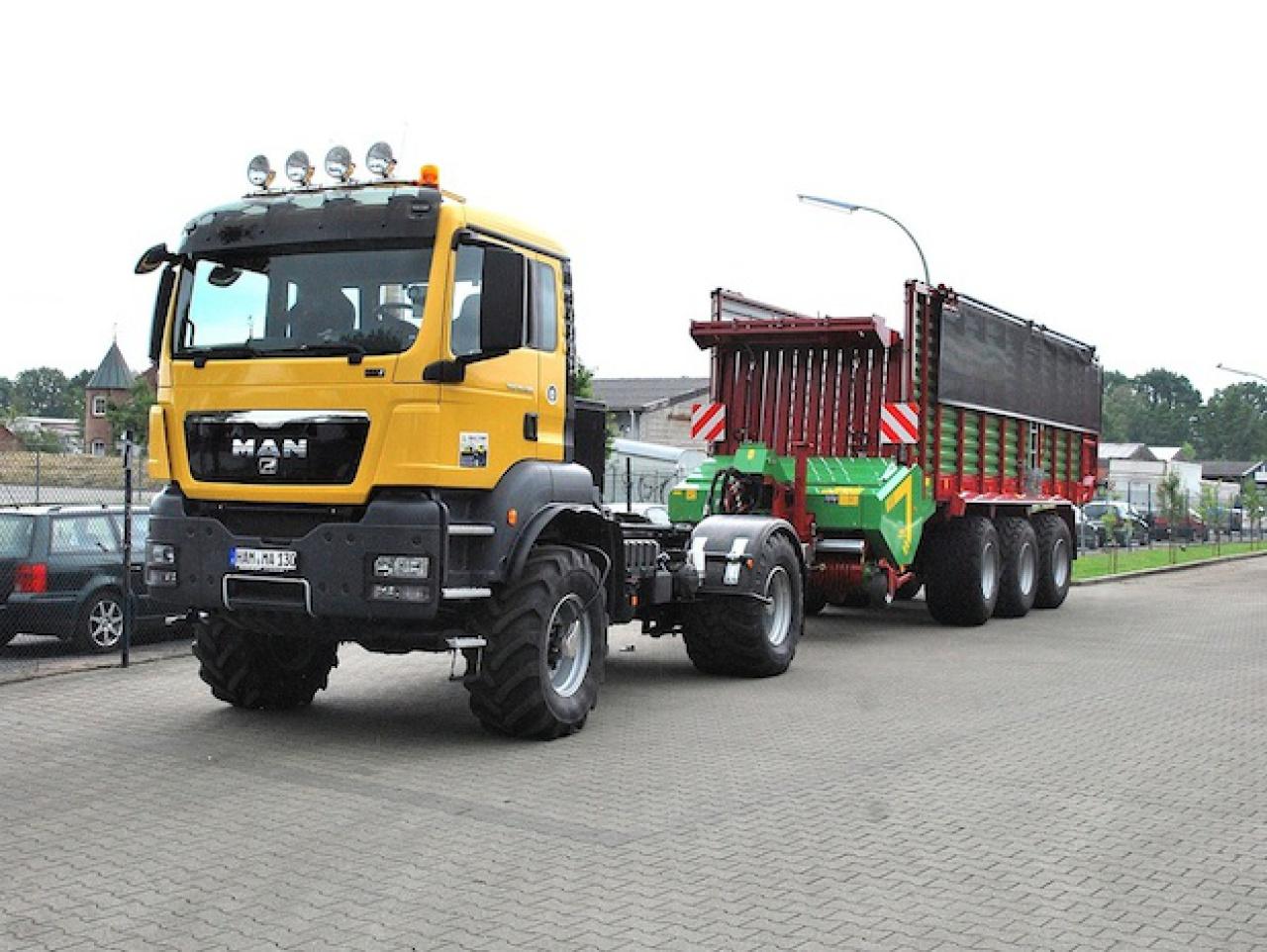 Geliebte Mit dem Agrar-Lkw schneller unterwegs - nachrichten &ZR_62