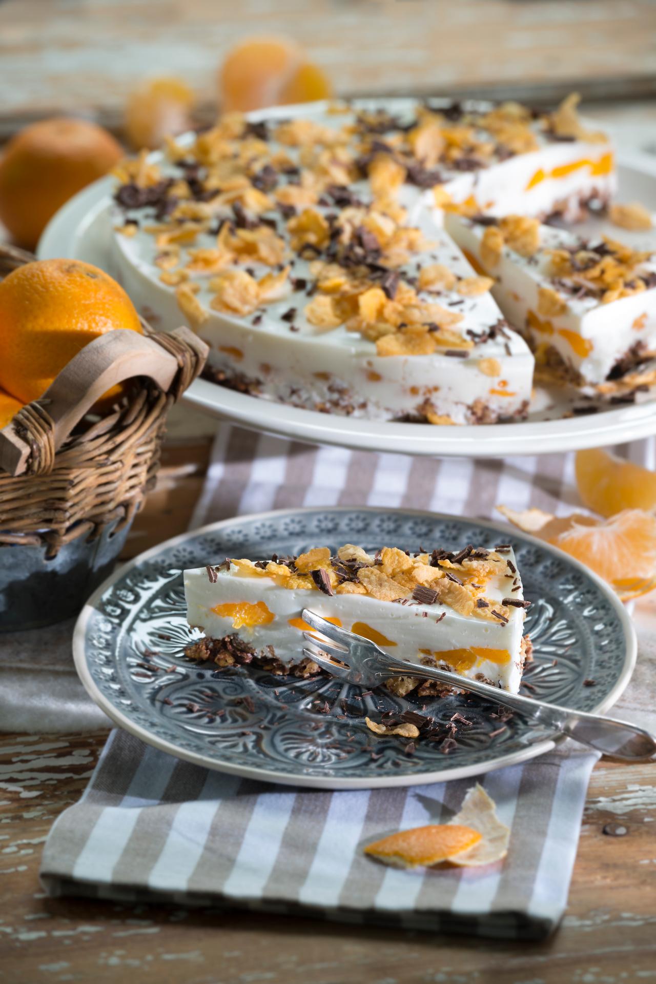 mandarinen torte mit cornflakesboden rezepte wochenblatt f r landwirtschaft landleben. Black Bedroom Furniture Sets. Home Design Ideas